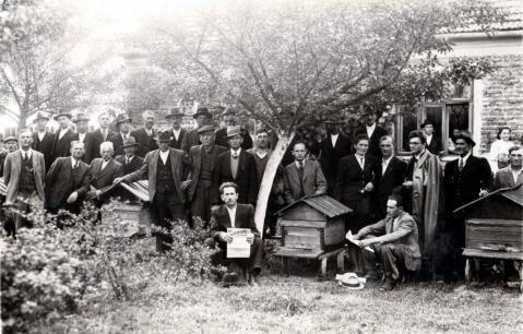 Koło Pszczelarzy z roku ok 1937